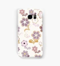 Sixties Flowers Samsung Galaxy Case/Skin
