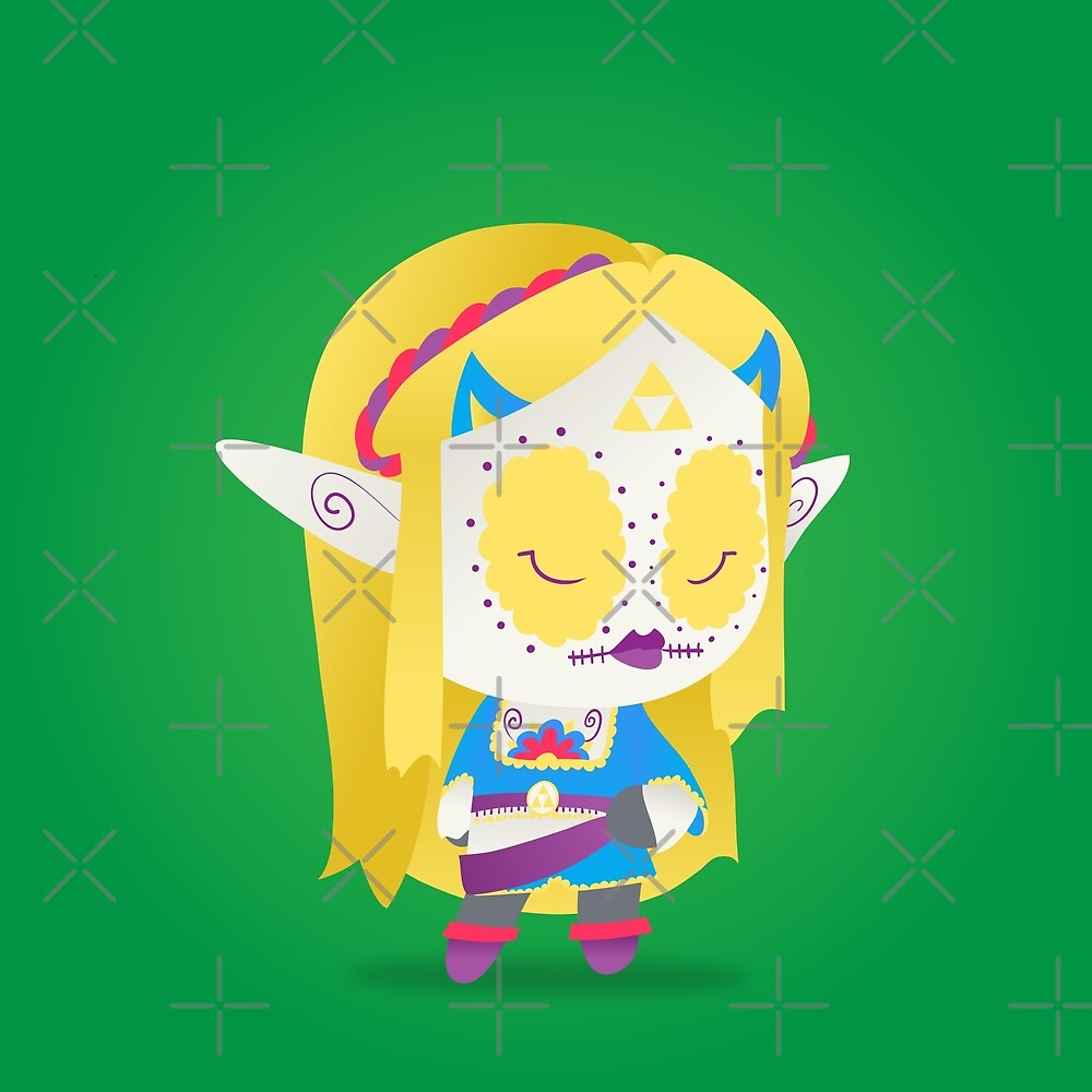 Zelda - The Legend of Zelda: Breath of the Wild | PopMuertos 2017 by abowersock