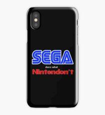 SEGA Does What Nintendon't iPhone Case/Skin