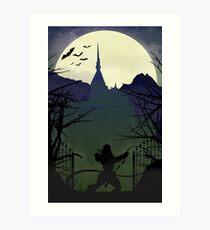 Castlevania Poster Art Print