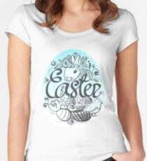 Easter Egg Women's Fitted Scoop T-Shirt