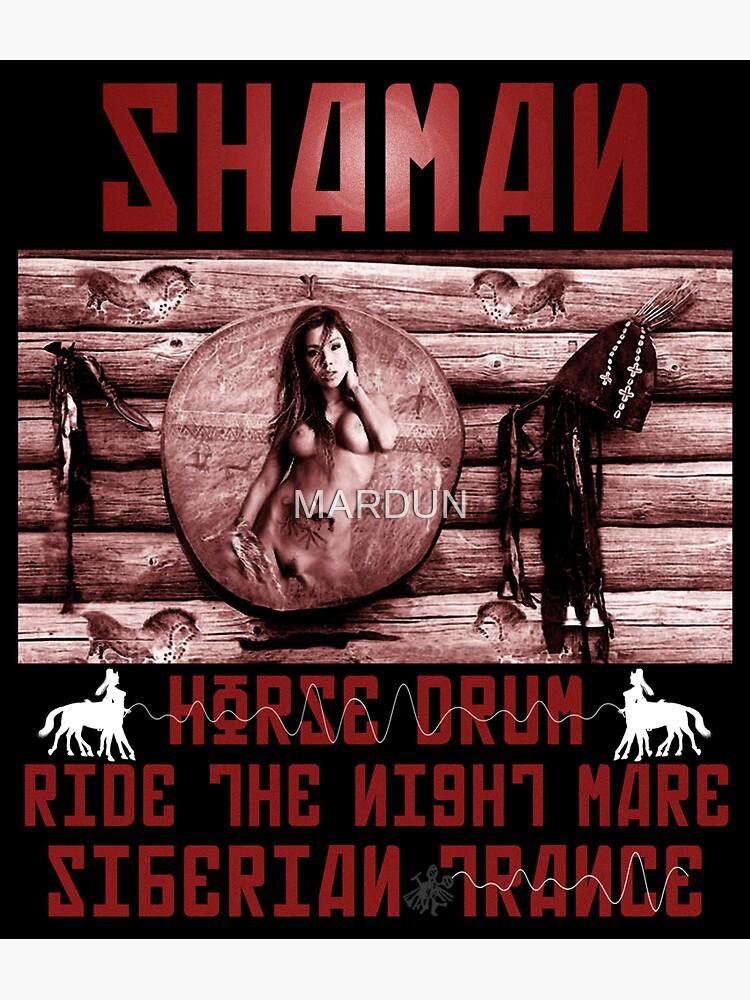 Shaman Night-Mare Drum Siberian Trance  by MARDUN