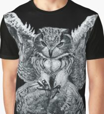 The Owl l Graphic T-Shirt