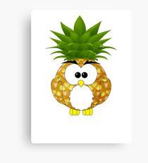 Pineappowl Canvas Print