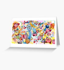 Kirby Grußkarte