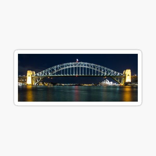 Sydney's Famous - Harbour Bridge & Opera House Sticker