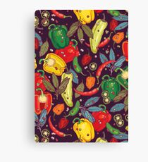 Hot & spicy! Canvas Print