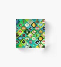 Mario Acrylic Block