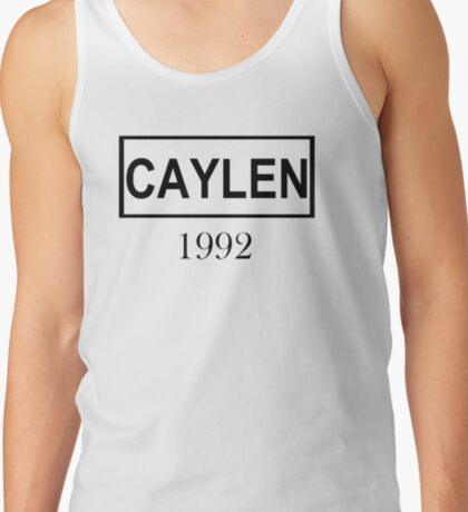 CAYLEN BLACK Tank Top