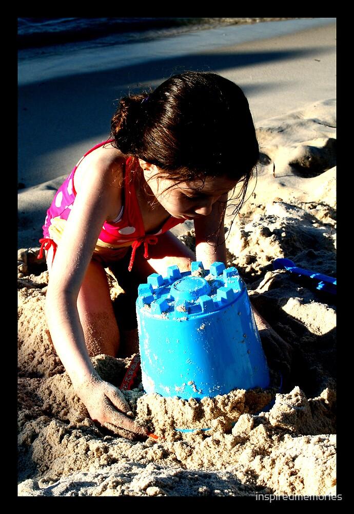 sandcastle... by inspiredmemories