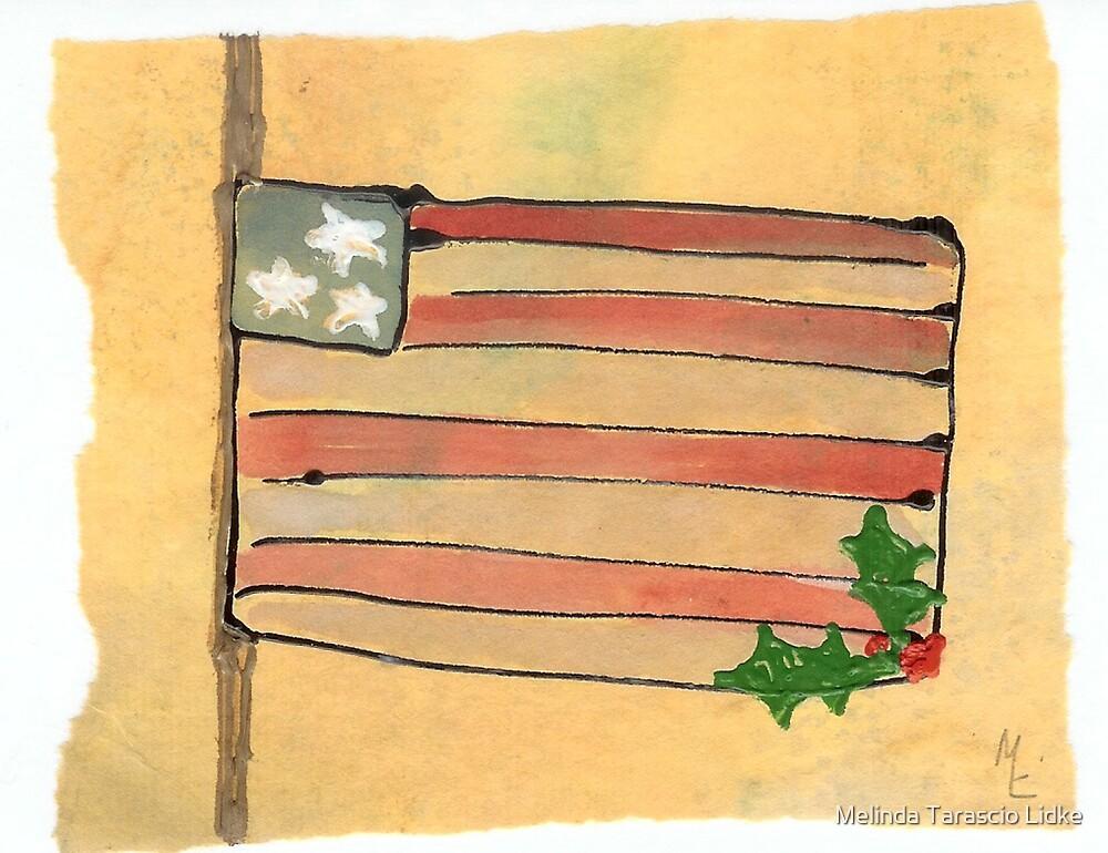 Honoring at Christmas Mixed Media 13c by Melinda Tarascio Lidke