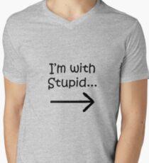 I'm with STUPID! T-Shirt