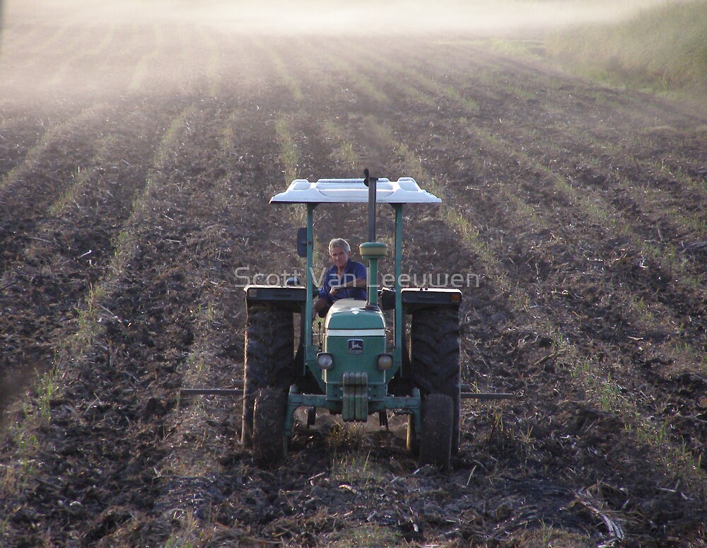 Early Morning Farmer by Scott Van Leeuwen