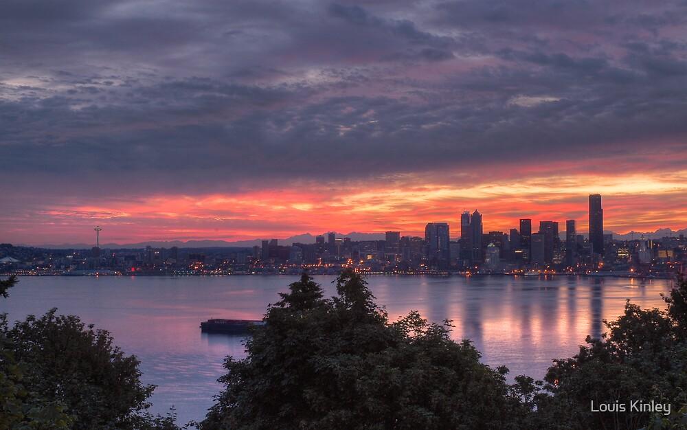 Seattle in July by Louis Kinley