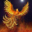Golden Phoenix by SeachelleArt