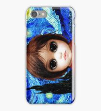 Big Eyes With Starry Night iPhone Case/Skin
