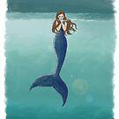 Mysterious Mermaid  by SeachelleArt