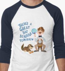 Man Has A Dream Men's Baseball ¾ T-Shirt