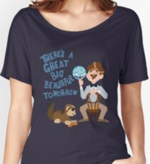 Man Has A Dream Women's Relaxed Fit T-Shirt