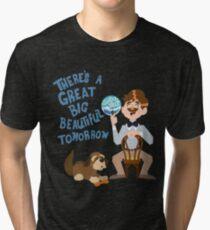 Camiseta de tejido mixto El hombre tiene un sueño