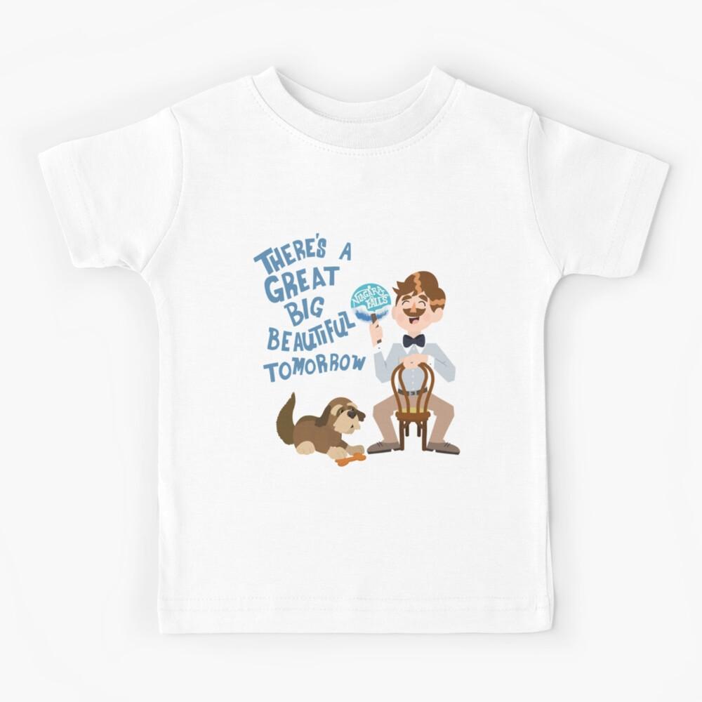 Man Has A Dream Kids T-Shirt