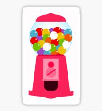 colorful candy dispenser Sticker