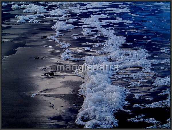 SEA FOAM by maggiebarra