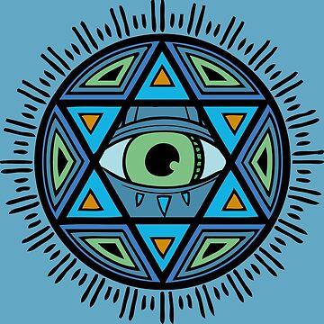 Wisdom eye by PiColada