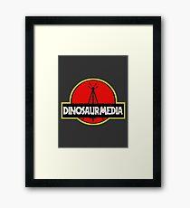 Dinosaur Media Framed Print