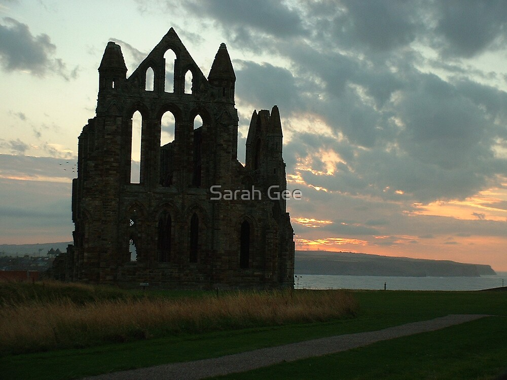 Whitby Abby  by Sarah Gee