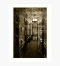 Ghost Hall Art Print