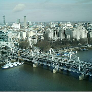 London from the eye by sarahgee