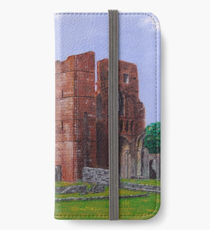 Lindisfarne Priory and St. Mary's Church iPhone Wallet