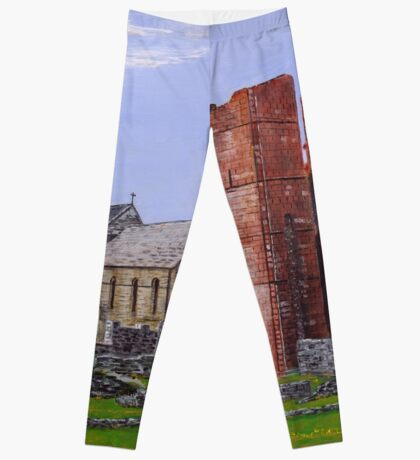 Lindisfarne Priory and St. Mary's Church Leggings