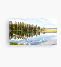 Trout Lake Reflection Canvas Print