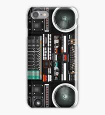 Boombox Ghetto Blaster J1 Super Jumbo iPhone Case/Skin