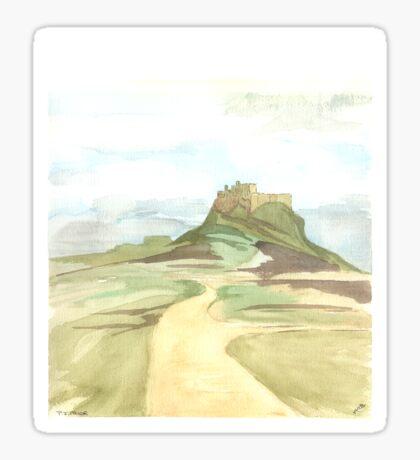 Lindisfarne Castle Sticker