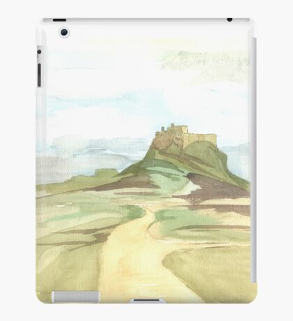 Lindisfarne Castle iPad Case/Skin