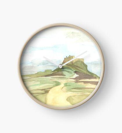 Lindisfarne Castle Clock