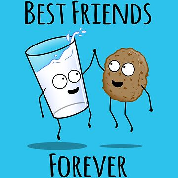 Milk and Cookie BFF by jozvozdesign
