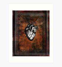 Dark Passion Art Print