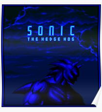 SONIC The Hedge Hog Poster