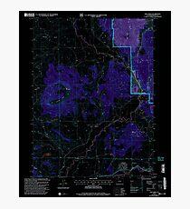 USGS TOPO Map Colorado CO Mad Creek 233681 2000 24000 Inverted Photographic Print