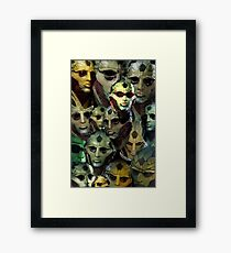 Thane Framed Print