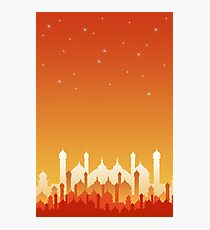 oriental asia city towers Photographic Print