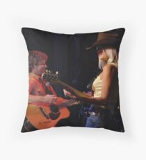 Dirks Bentley on Stage Throw Pillow