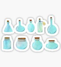 Empty bottles Sticker