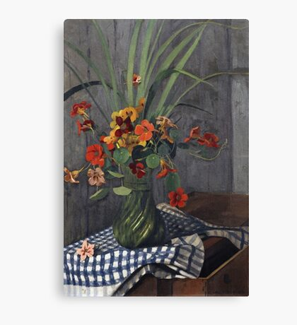 Felix Vallotton - Nasturtiums Canvas Print