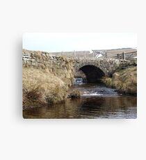 Small Bridge Canvas Print