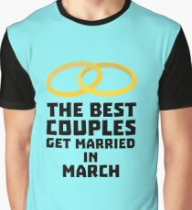 The Best Couples in MARCH R828s Graphic T-Shirt